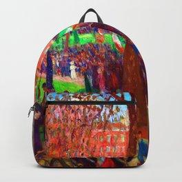 William Glackens Parade Washington Square Backpack