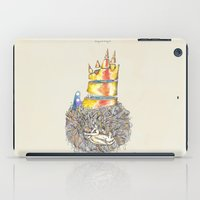 vonnegut iPad Cases featuring Lucky Mud Lucky Me by Hayley Powers Studio
