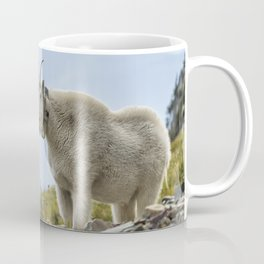 The Ups and Downs of Being a Mountain Goat No. 2b Coffee Mug