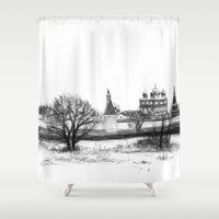Iossio-Volotzky monastery SK0138 Shower Curtain