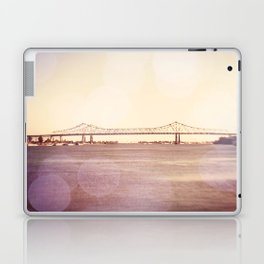 Greater New Orleans Bridge over the Mississippi Laptop & iPad Skin