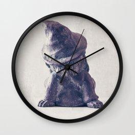 Gnome Life Wall Clock