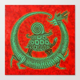 aghira jade Canvas Print