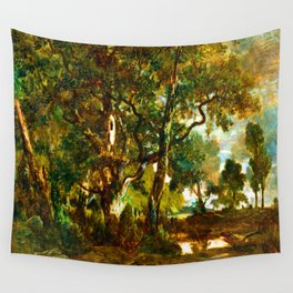 Theodore Rousseau Forest of Fontainebleau Wall Tapestry