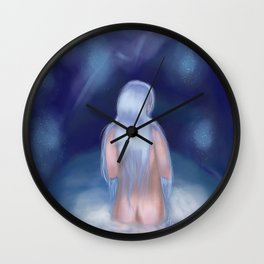 FROM MERMAID TO HUMAN Wall Clock