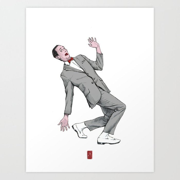 Pee Wee Herman #2 Art Print