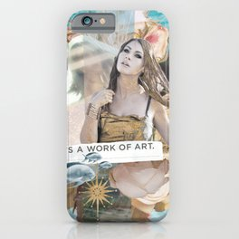 Work of Art iPhone Case