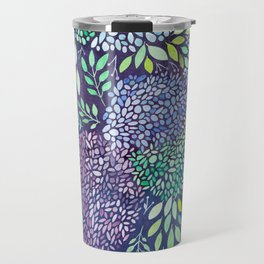 Purple Hydrangeas Travel Mug