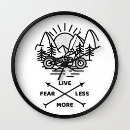 Live More Wall Clock