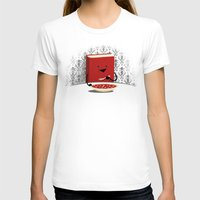 literary T-shirts featuring Nutrition by littleclyde