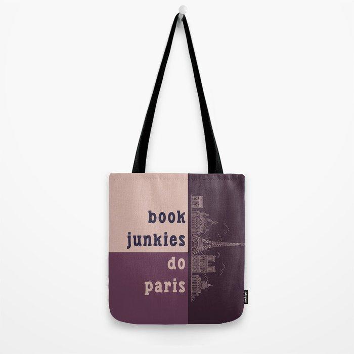 Book Junkies do Paris Tote Bag