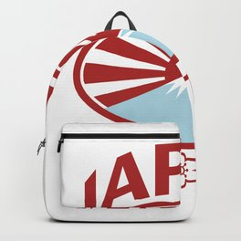 Japan 2019 Rugby Oval Ball Retro Backpack