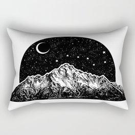 Pioneer Peak Rectangular Pillow