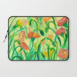 Sun drenched Poppies Laptop Sleeve