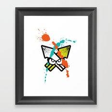 Splatoon - Turf Wars 4 Framed Art Print