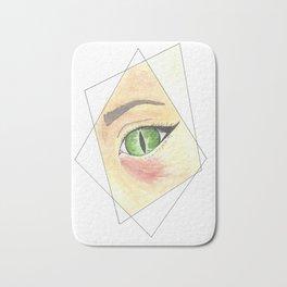 Witch Eye in Prism Bath Mat