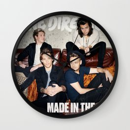 Made in the A.M Wall Clock