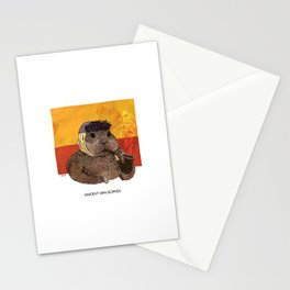 Vincent van Gopher Stationery Cards