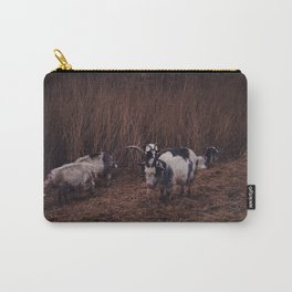 Goats in the wild, Groningen, Netherlands Carry-All Pouch