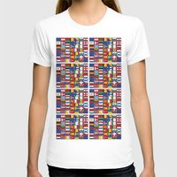 europe T-shirts featuring Europe/Europa by MehrFarbeimLeben