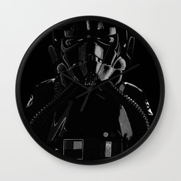 Darth Vader Is My Wingman Wall Clock