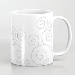Abstract Minimalist Neutral Pattern design Coffee Mug