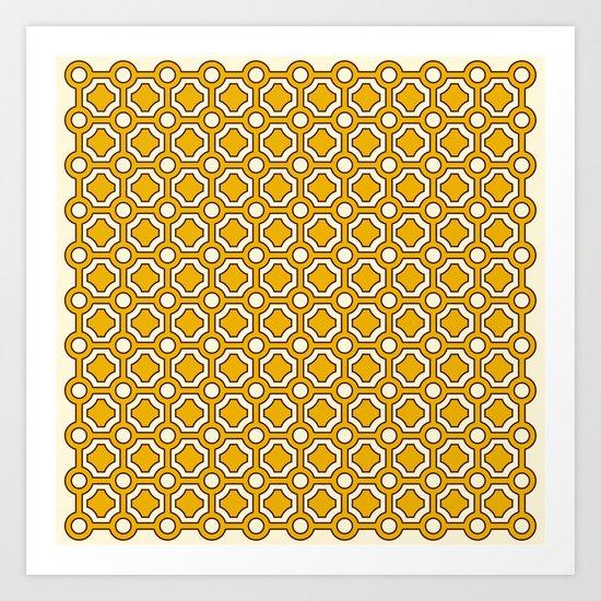 Pattern D Art Print