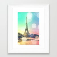paris Framed Art Prints featuring Paris. by WhimsyRomance&Fun