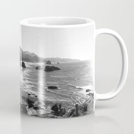 Ecola in Black and White Coffee Mug