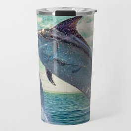 Catch a Marlin if You Can Travel Mug
