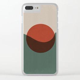 Yin ad Yang Clear iPhone Case