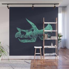Triceratops Skull Wall Mural
