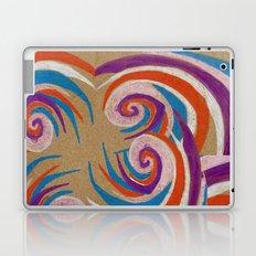 snoozy spiral Laptop & iPad Skin