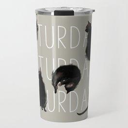 Caturdays Travel Mug