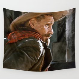 The Gunslinger - The Cowboy - The Dead Wall Tapestry