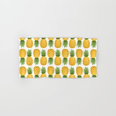 Pineapple Pattern Hand & Bath Towel