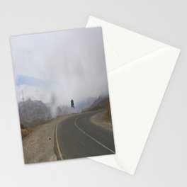 lonely roads.. Stationery Cards