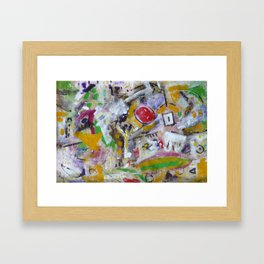 Drunk with Ouspensky Framed Art Print