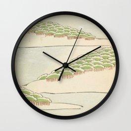 Minimalist Trees Wall Clock