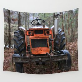 Tractor Purgatory Wall Tapestry