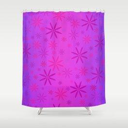 Flower Power Purple Passion Shower Curtain