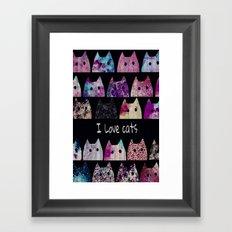 cat-40 Framed Art Print