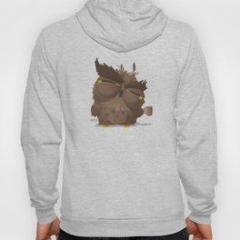 Grumpy coffee owl Hoody