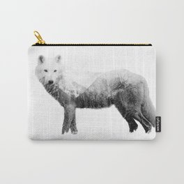 The wolf in the forest Carry-All Pouch