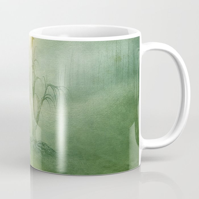 Greenery Sunrise Coffee Mug