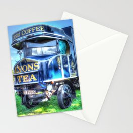 Lyons Tea van Stationery Cards