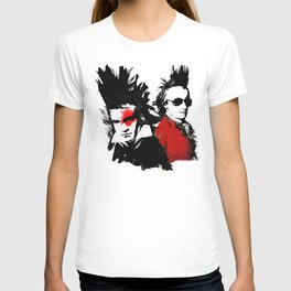 Beethoven Mozart Punk Composers T-shirt