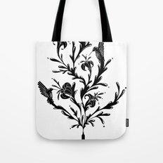 Fluid Bloom Tote Bag