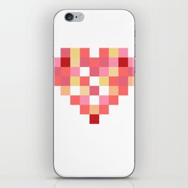 Squares of Love iPhone Skin