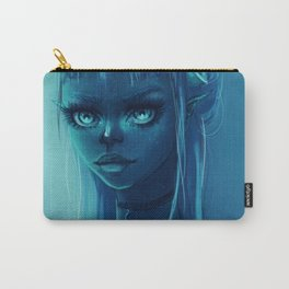 Neon Skies Carry-All Pouch